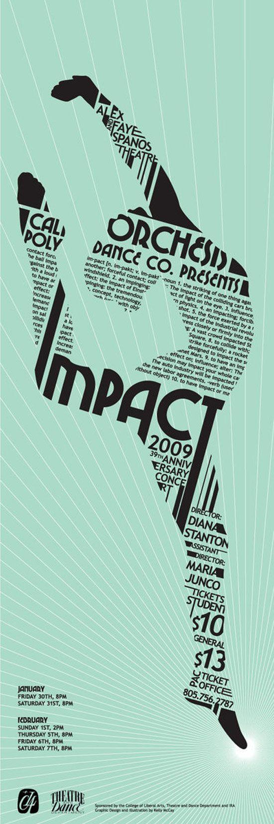 28 cartazes tipográficos para inspiração | Criatives | Blog Design, Inspirações, Tutoriais, Web Design