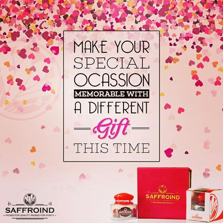 Have a special occasion coming up? Let us help you make it memorable this year. Bring home a Saffroind Gift Pack, a premium gift pack with purest saffron strands to make your loved ones feel special. Order today: http://www.saffroind.com/product/saffrononline-cod-avail/ #saffron #kesar #giftfromlove #giftpacks #gift #giftsonline #onlinegiftstore #onlinegift #bestsurprise #surprisegift #special #makeitmemorable #wowmoment #bestgiftever #presentforme #premium #present #raregift #thoughtfulgift