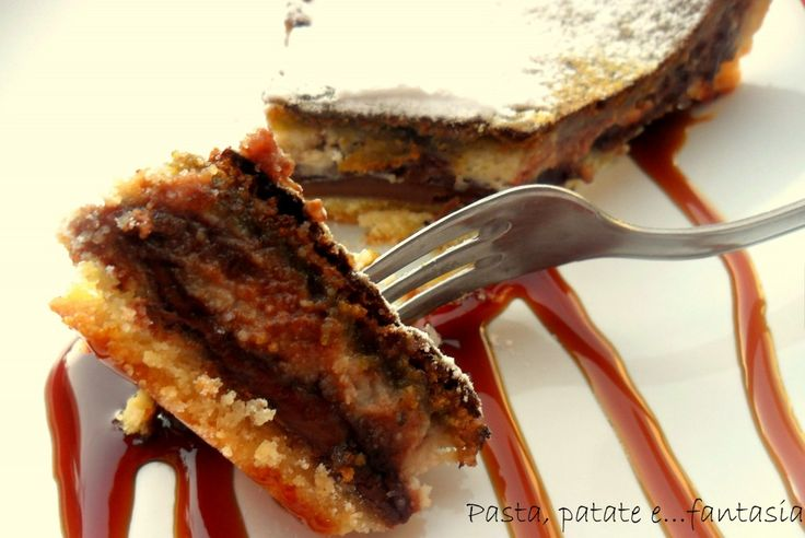 Crostata ricotta cioccolato e pistacchio | %%pastapatateefantasia%%