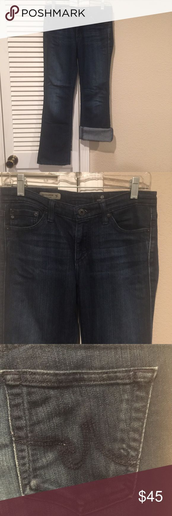 """ADRIANO GOLDSCHMIED THE COLETTE SLIM BOOT CUT ADRIANO GOLDSCHMIED THE COLETTE SLIM BOOT CUT. Size 27R Approx 28"""" inseam. The soft in these jeans is delicious! AG Adriano Goldschmied Jeans"""