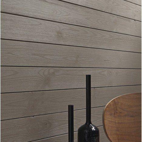 Lambris bois épicéa brossé sans noeud, L 205 x l 13.5cm, ép.12mm