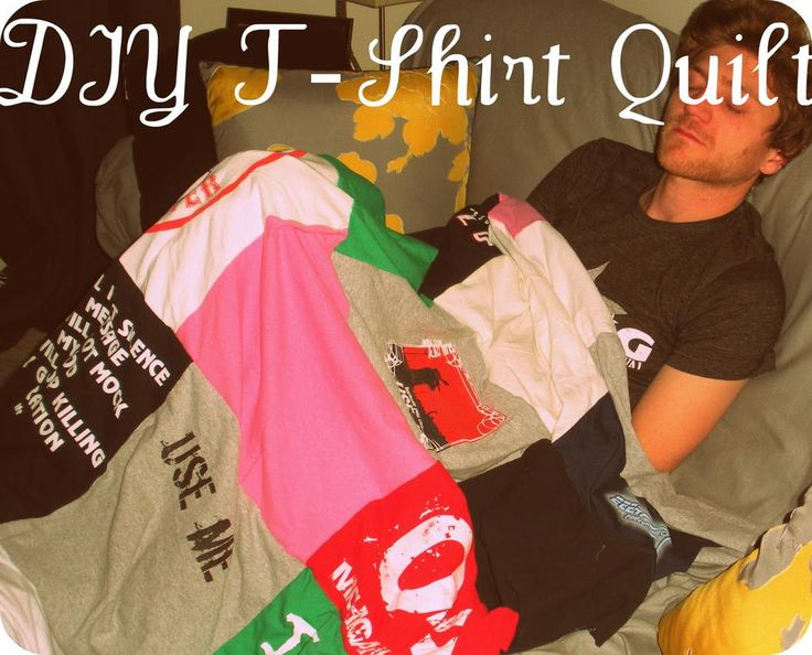 A great way to save all of your old t-shirts is learning How to Make a T-Shirt Quilt. Easy, and so much fun to make, a DIY t-shirt quilt is a wonderful sentimental piece.