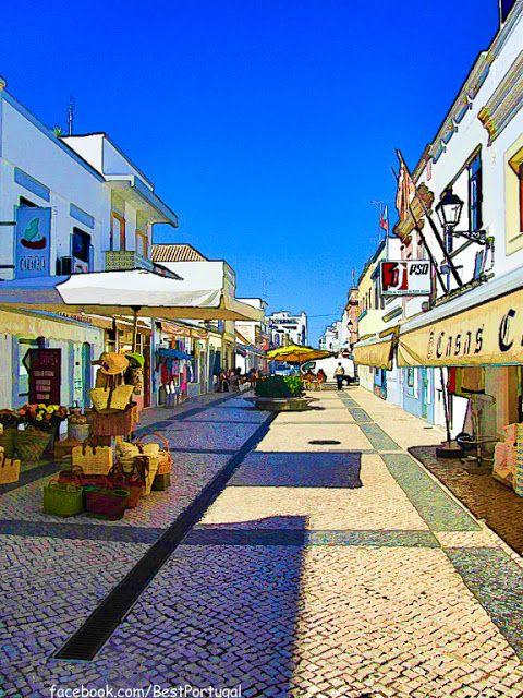 Portugal Turismo: Vila Real de Santo Antonio #vilarealdesantoantonio #portugal