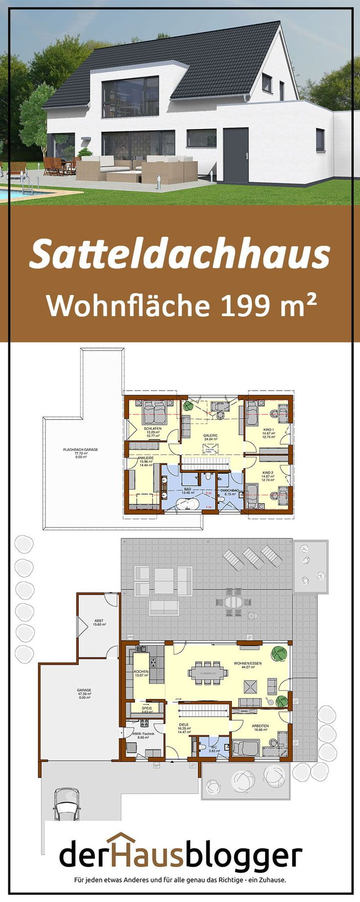 Satteldachhaus 199m²