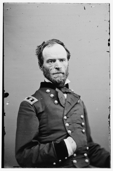 Union Major General William Tecumseh Sherman The guy that ended the Civil War by burning Georgia to the ground.