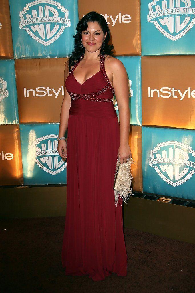 Sara Ramirez beautiful red dress
