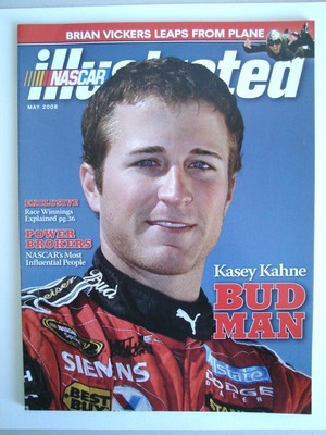 Kasey Kahne NASCAR Illustrated May 2008 | eBay