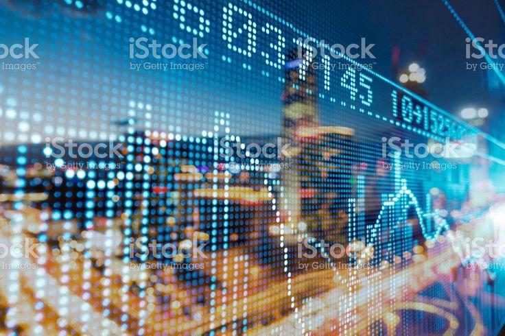 Marché boursier prix affichage Stock Photo Libre de Droits 85558501 - iStock