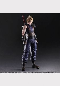 FINAL FANTASY® VII REMAKE PLAY ARTS -KAI-  CLOUD STRIFE (Limited Color Ver.)
