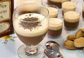 Mousse de Navidad (chocolate y turrón) #postres #navidad #dulces #nochebuena #mousse #turrón #chocolate #reposteria