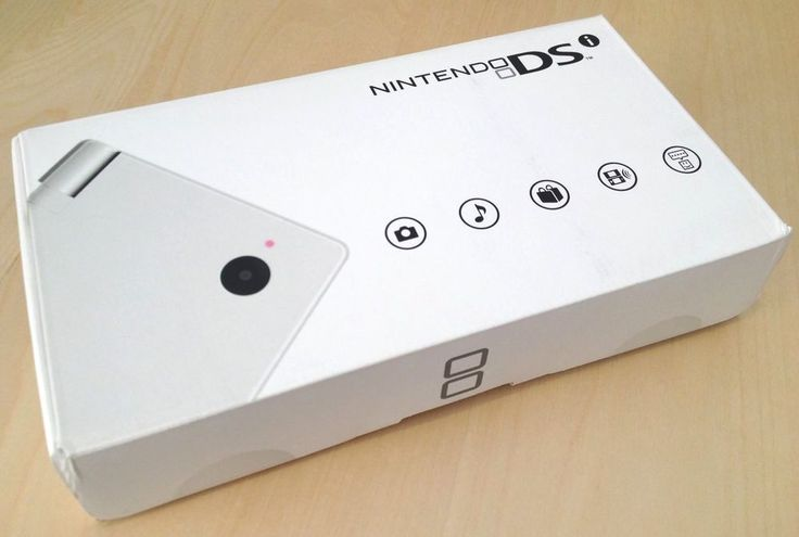 Brand New In Box - Nintendo DSi White -US Version- Handheld DS System Old Stock #Nintendo #DSi