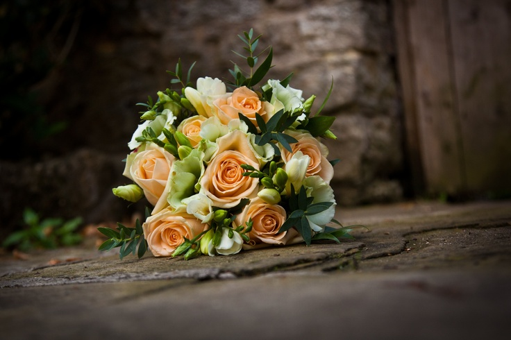 Peach Avalanche Roses - perfect for a country bouquet theme