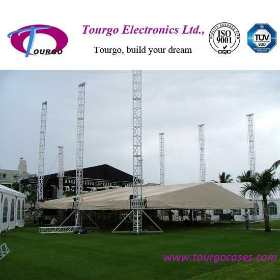 Ourdoor event stage truss