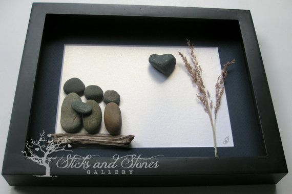 Family Christmas Gifts  Personalized Family by SticksnStone