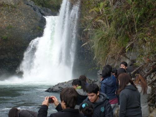 Foto de Saltos de Nillahue. en Región de Los Ríos. CHILE en Lago Ranco