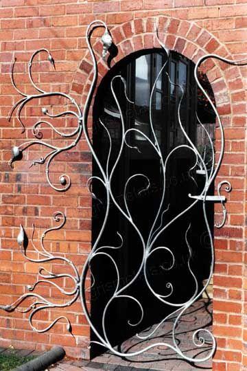 Contemporary Organic Garden Gate