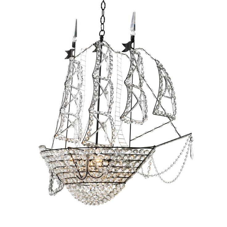 Utterly in love with this Ship chandelier from Canopy Designs. It needs to be in my dining room.