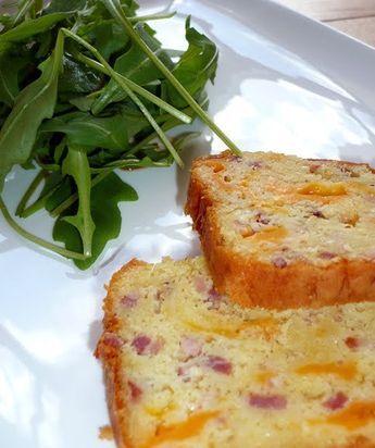 cake lardon oignons