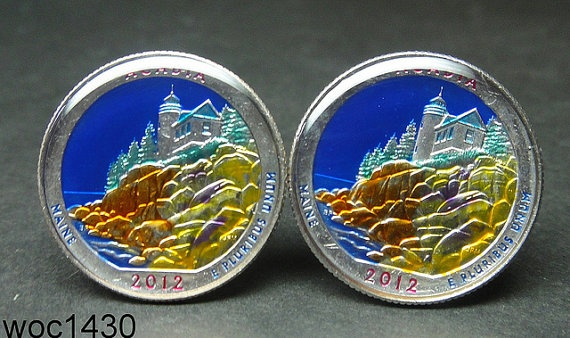 America the Beautiful Quarter   Acadia National Park by wowcoin, $38.00