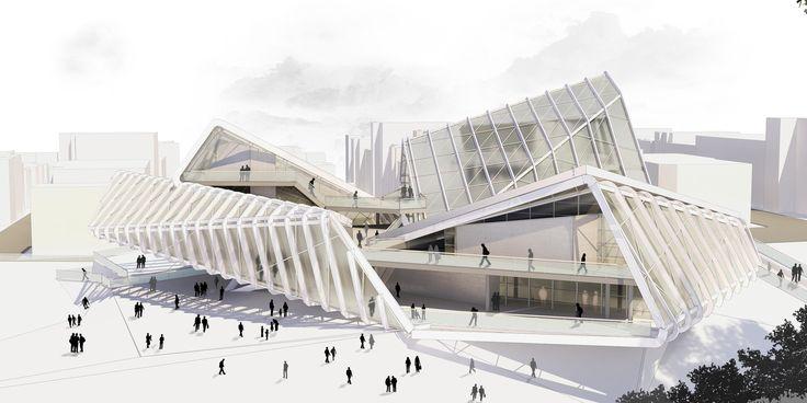 Gallery of Media Complex / CAAT Studio Architecture - 3