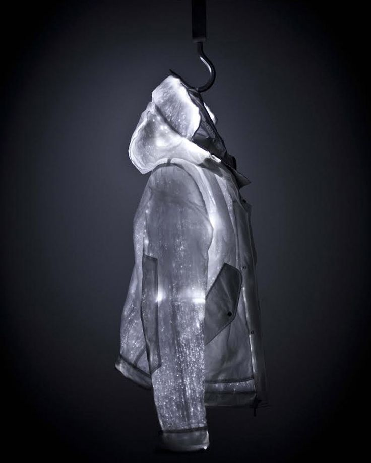 Ca vous dirait une veste en fibre optique ?