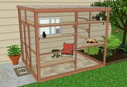 """DIY Catio Plans Overview. Are we ready to embrace this level of """"Cat Person"""" identity?"""