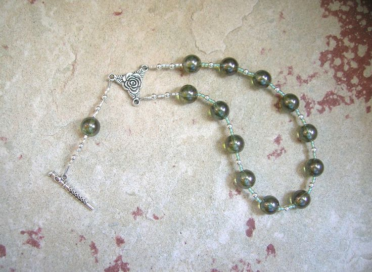Euterpe Pocket Prayer Beads: Greek Muse of Music and Song
