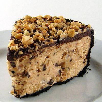 Chocolate Peanut Butter Torte.  Looks divine.