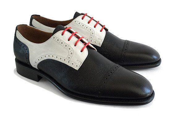 Men's Goodyear Welted Toe-Cap Gibson Black – Brodawka & Friends