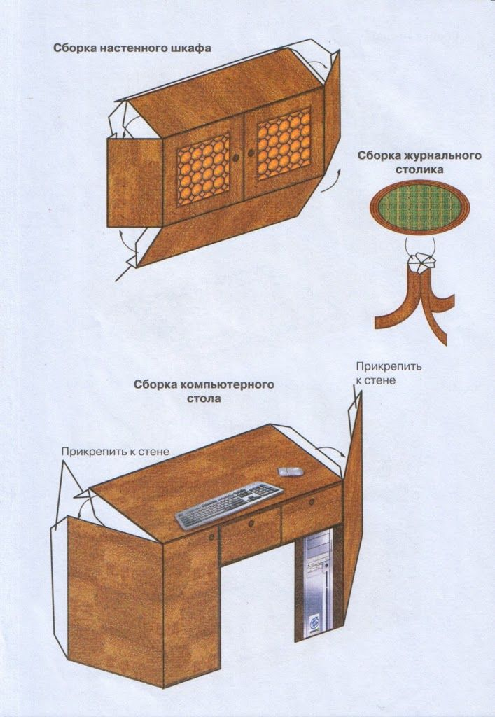 17 best images about 2 printables furniture mini rooms for dollhouse on pinterest - Paper furniture ...