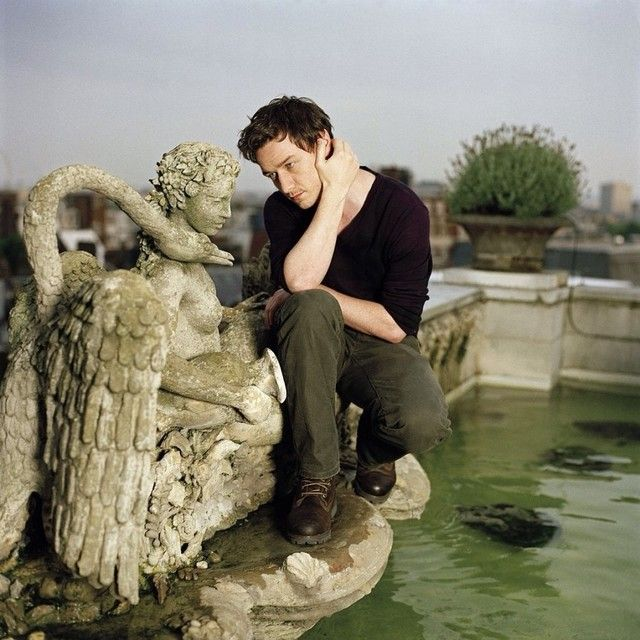 Now I want to be that fountain statue.