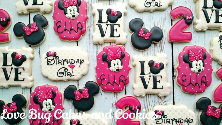 Minnie Mouse Birthday | Cookie Connection