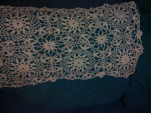 Table doily by Sylvie crochet