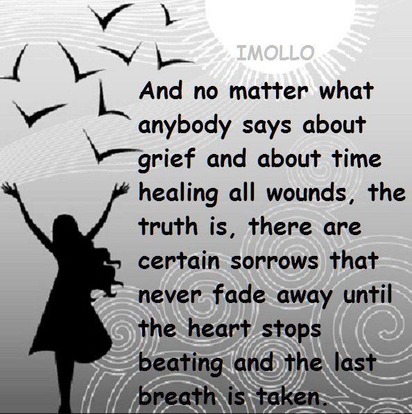 So true... Till we meet again my child... in my heart always... xoxoxox