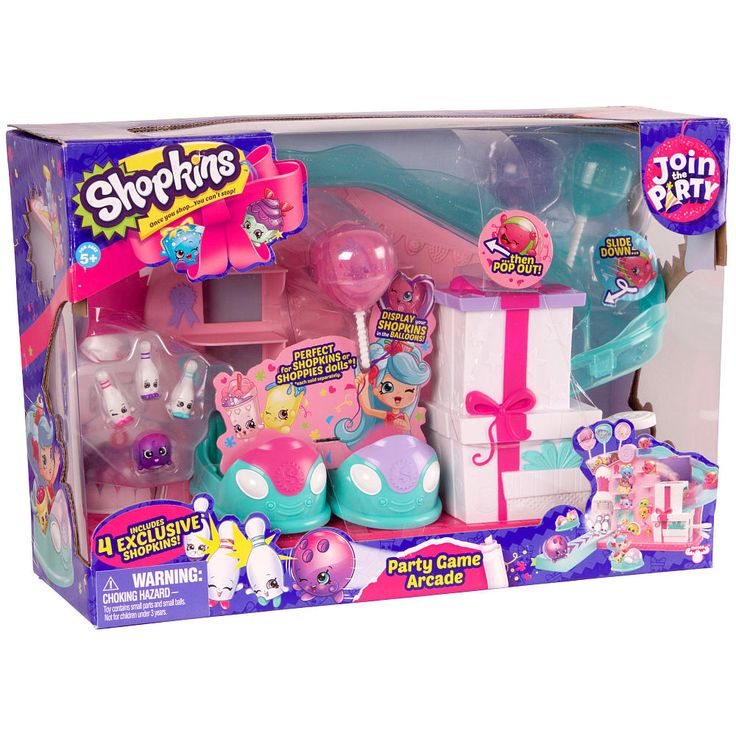 Shopkins Series 7 Large Playset - Party Game Arcade