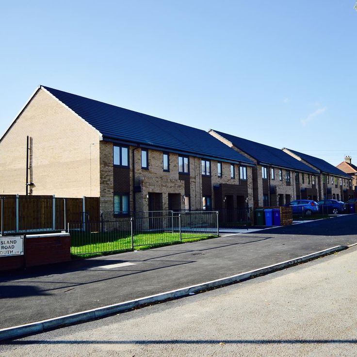 JMA Island Road South. Residential scheme in #Liverpool for SLH Group. #brick #housing #affordable
