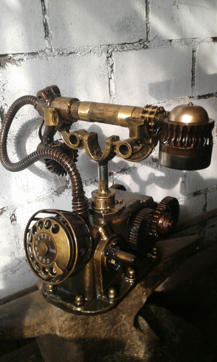 Welcome to the surreal steampunk apartment where jules verne meets tim - Telephone Do It Yourself