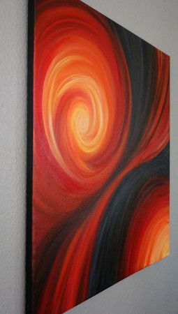 Passion's Dance Painting - Liz W Abstract Art Gallery #abstractart #lizwfineart #abstractpainting