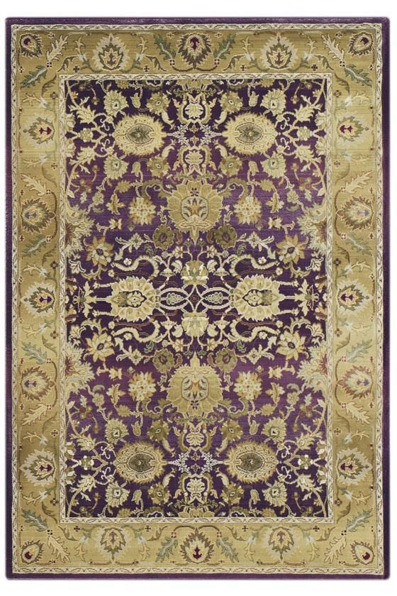 Poise Area Rug: This Rug Is Full Of Beautiful Plums And Sage Green Colors.