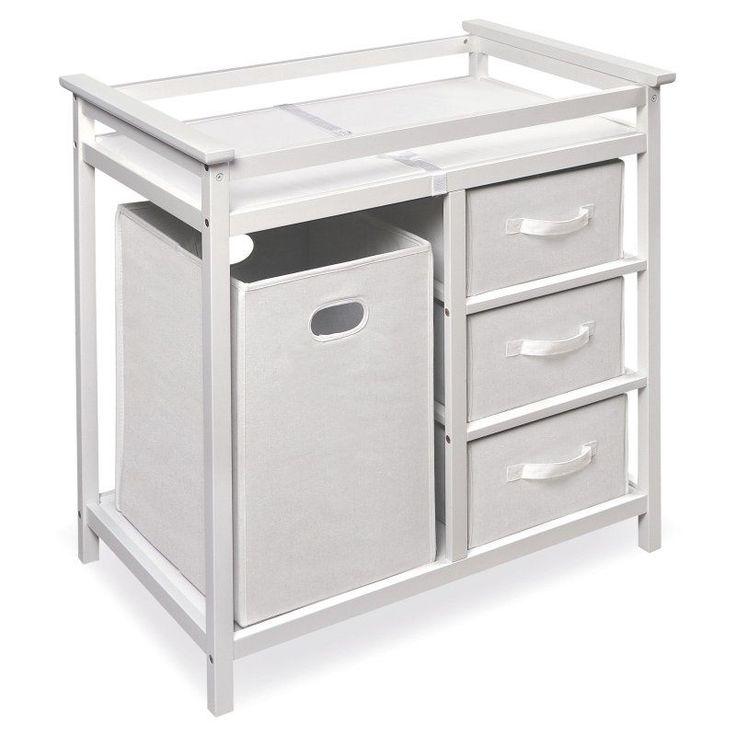 Badger Basket Modern Changing Table White - 02500