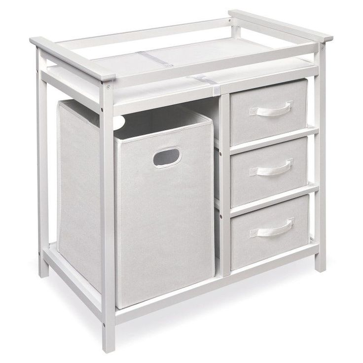 Badger Basket Modern Changing Table White - 02500