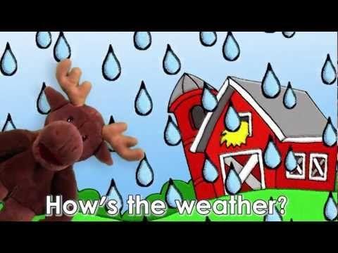 Engels liedje over het weer voor kleuters / How's the Weather Song