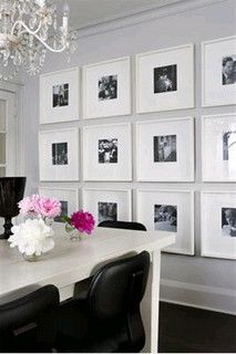 Ribba Photo Collage Wall by Jessie {my mod style}, via Flickr