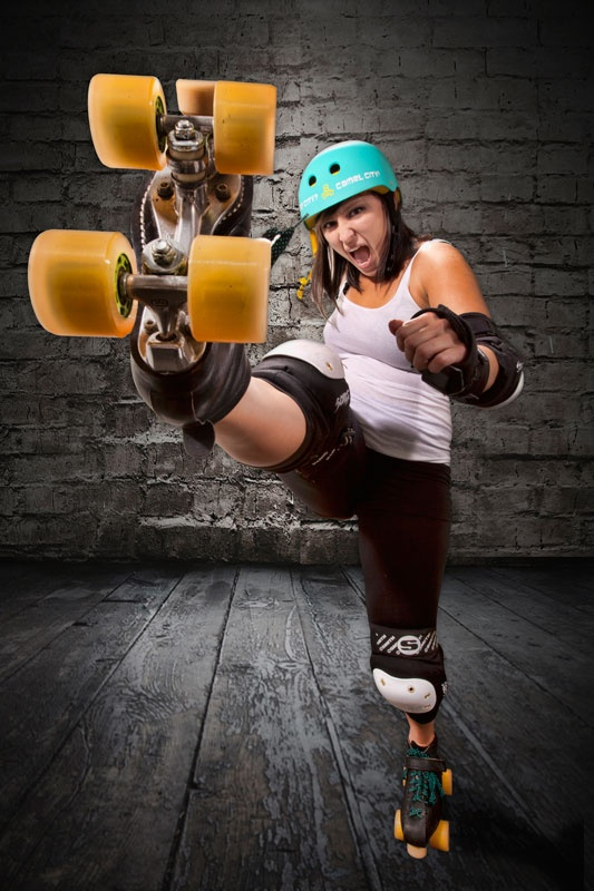 Camel City Roller Derby- Pixel Pusher