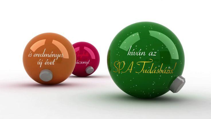 SPA Tudásbázis karácsonyi üdvözlet
