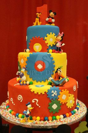 237 best Cakes 1st Birthday images on Pinterest 1st birthday