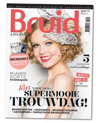 De nieuwe editie van Bruid & bruidegom Magazine