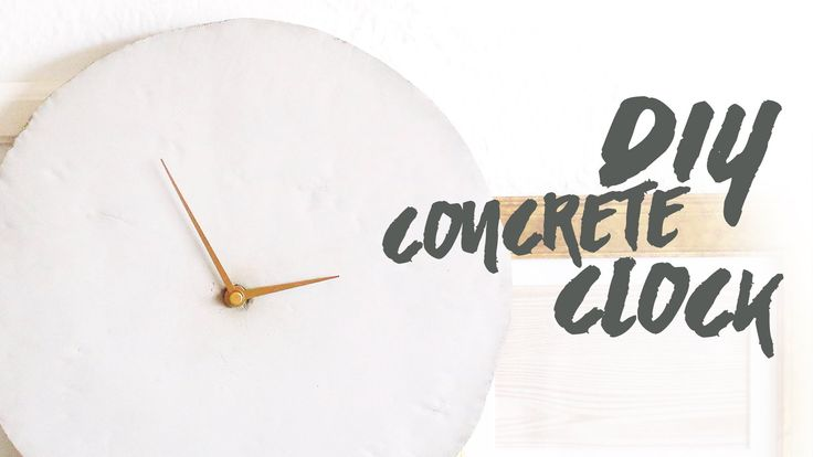 Guess who's back? Back again. Concrete DIY's are back, tell a friend! We are excited to share with you guys this concrete clock. Although it took us a couple...