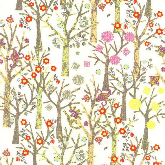 Tuesday Trees Liberty Tana Lawn Fat Quarter by Alicecarolinesupply, $8.75