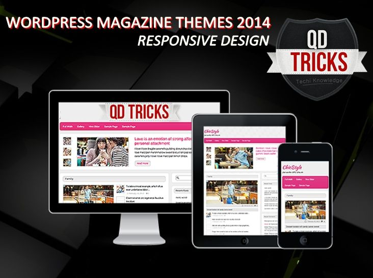 #WordPress #Magazine #Themes Premium Quality For Free 2014
